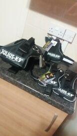 4 brand new k9 harnesses