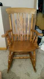 Antique victorian rocking chair excellent condition