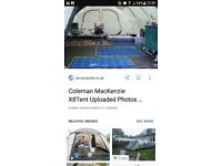 Fab Coleman McKenzie x8 Tent. Awning inc. X4 Bedrooms. Fab cond. BARGAIN!!