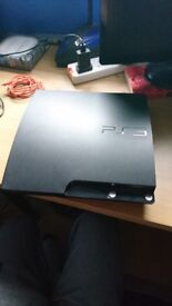 Playstation 3 + 21 Games & Accessories - £90