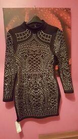 Black balimi style dress