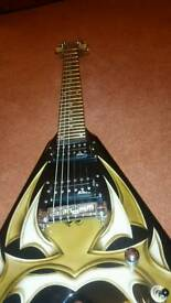 BC RICH KKV METAL MASTER V2 FLYING V