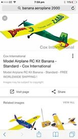 Banana 2000 aeroplane
