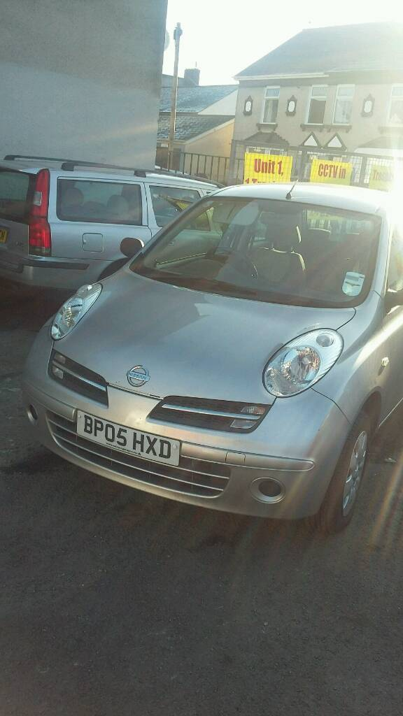 05 PLATE NISSAN MICRA. 1.2 PETROL. GREAT CONDITION