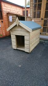 3x2 Heavy dog kennel fully T&G - 3FT deep x 2FT wide.