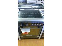 HOTPOINT Stainless Steel 60Cm Gas Cooker in Ex Display