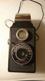 Vintage LONGCHAMP camera (1940s)