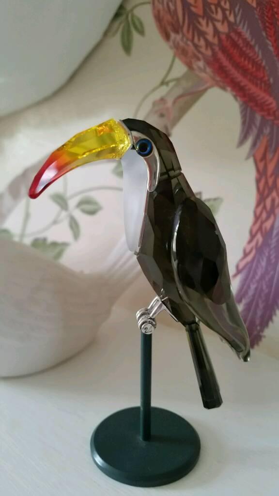 Swarovski bird figure