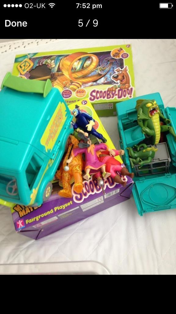 scooby doo cars games