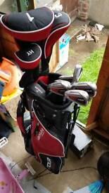 Golf clubs left handed full set
