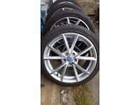 Alloys and tyres for audi or vw (RS4 style)