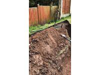 Free top soil in Mansfield