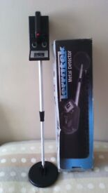 for sale a terratek metal detector plus earphones boxed .