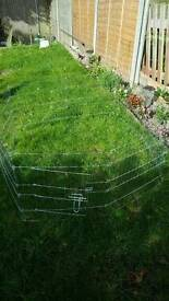 Pet pen with cover
