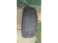 Car tyre tire 195/50/r15 Want it gone, Price dropped just 5 quid