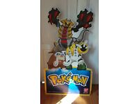 Large POKEMON Ex-Shop Display - Cardboard Display Stand - 4ft10
