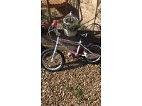 Hello kitty child's bike