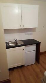 Double en-suite room with kitchenette - bills included