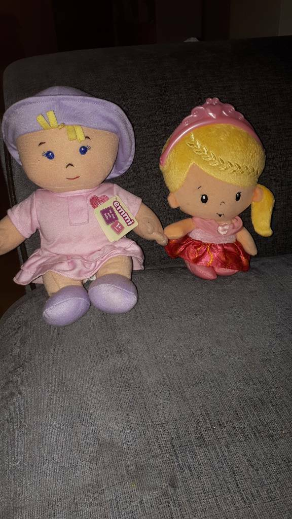 2 Soft Dolls for toddlers