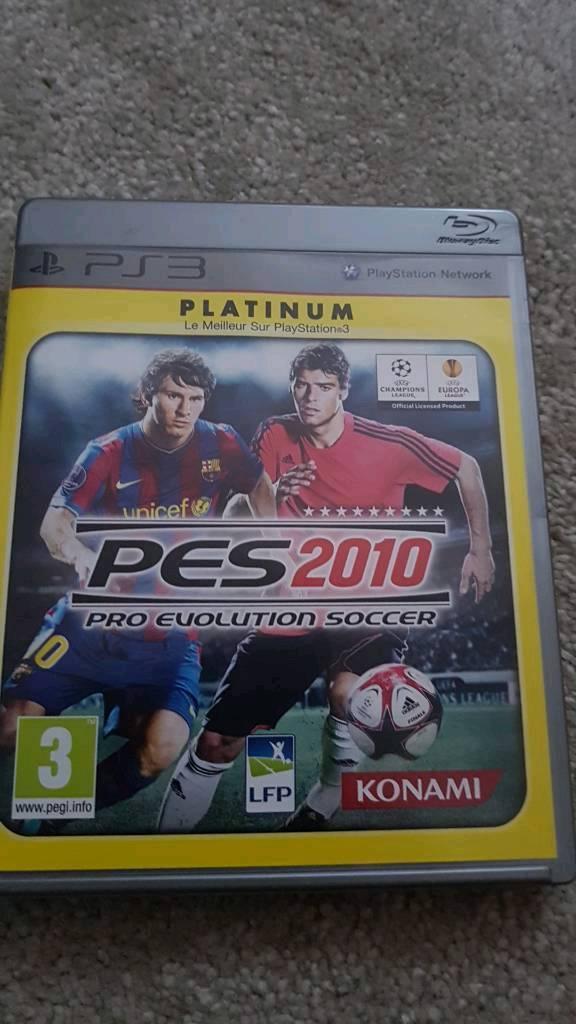 PES 2010 PS3 Pro Evolution Soccer PlayStation 3