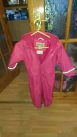 Girls 36-48 months REGATTA snow suit