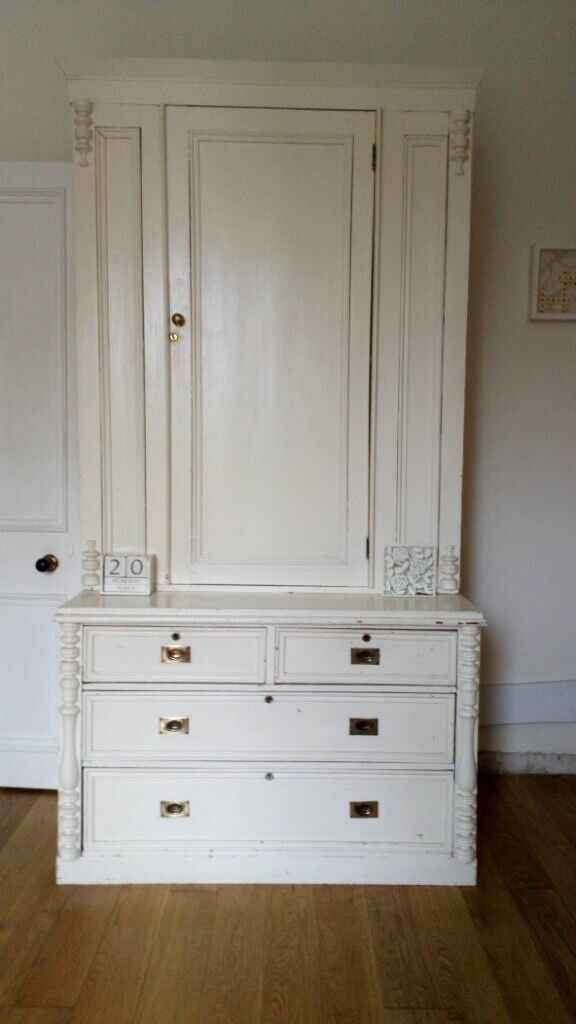 Welsh Dresser Bottom Lower Unit With Drawers Top Half Cupboard With
