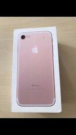 rose gold apple 7