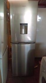 KENWOOD 50/50 silver Fridge Freezer slightly marked ex display