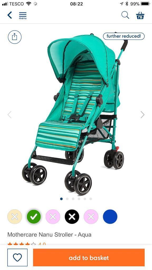 Mothercare nanu brand new