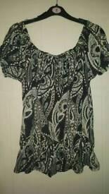 Gypsy top size 8