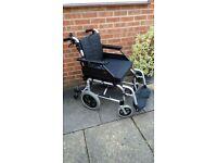 Enigma XS2 Aluminium Wheelchair / CRASH TESTED MODEL