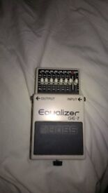 Roland Boss GE 7 Equalizer for Guitar