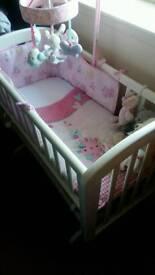 John lewis gliding crib