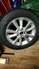 Madza 3 spare wheel