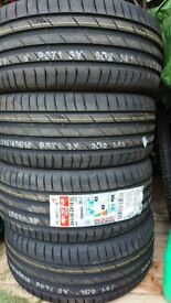 4 brand new tyres 245/40/18 with bmw alloys