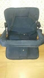 Bertini Toddler Seat , rain cover , feet cover and bag