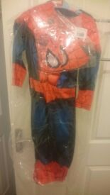 New tagged spiderman outfit with mask