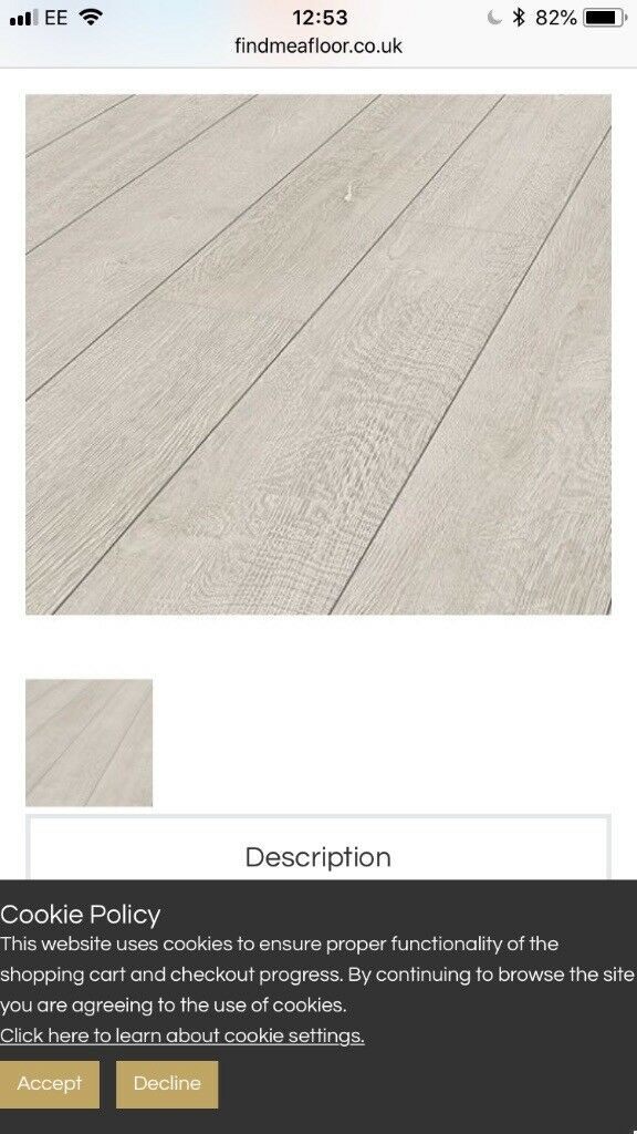 2 Packs Grey Laminate Flooring Roundhay West Yorkshire