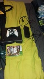 Xbox 360 and gta iv for sale in used condition loads of photos feel free to ask any questions
