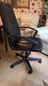 Bargain! Office, Leather, High Chair, Rotatable Chair
