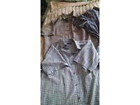 Mens short sleeve shirt bundle xxl