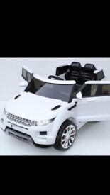 Ride on kids battery powered Range Rover