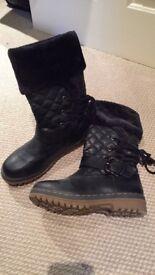 Ladies boots x 2