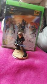 Disney infinity 3.0 xbox one disc & figure