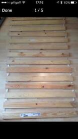 Ikea pine single bed slats