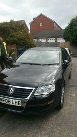 Black Volkswagen Passat, Good Condition