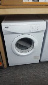 New graded bush tumble dryer 7kg with 12 month warranty