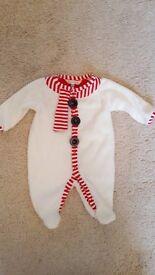 John Lewis newborn snowman outfit