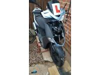 Kymco agility city 50cc all parts for sale except what you can see is missing