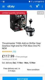 Thrustmaster gear shift